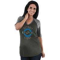 Women's Majestic Detroit Lions Pride Rules Tee
