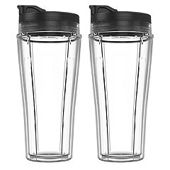 Ninja 24 oz. Single-Serve Cup & Lid Double Pack