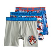 Boys 4-20 Spiderman 3-Pack Boxer Briefs