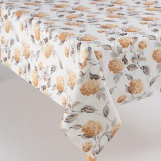 Laura Ashley Hydrangea Yellow Tablecloth