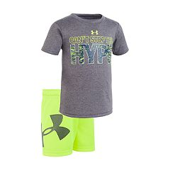 Baby Boy Under Armour 'I Can't Stop The Hype' Graphic Tee & Shorts Set