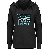 Women's Majestic Philadelphia Eagles We Fly Hoodie