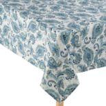 Laura Ashley Velotti Blue Tablecloth
