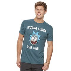 Men's Rick & Morty Wubba Tee