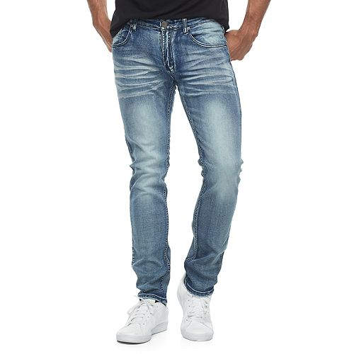 XRAY Jeans for Boys Slim Fit Light Blue Fade Fashion And Casual Wear