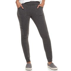 Women's SONOMA Goods for Life™ Moto Midrise Skinny Ponte Pants