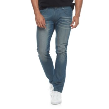 Men's XRAY Slim-Fit Washed Jeans