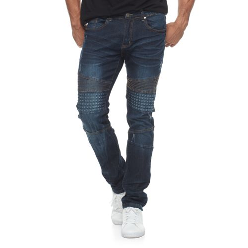 Men's Raw X Slim Fit Embossed Moto Jeans by Kohl's