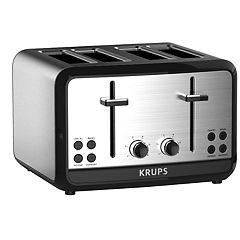 Krups Savoy 4-Slice Stainless Steel Toaster