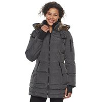 Women's HFX Faux-Fur Trimmed Puffer Jacket