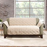 Sure Fit Deluxe Non-Skid Waterproof Loveseat Slipcover