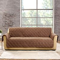 Sure Fit Deluxe Non-Skid Waterproof Sofa Slipcover
