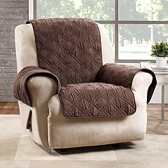 Sure Fit Deluxe Non-Skid Waterproof Recliner Slipcover