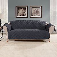 Sure Fit Microfleece Non-Slip Sofa Slipcover