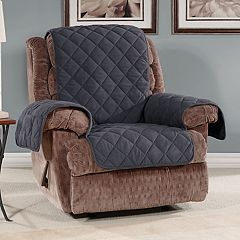 Sure Fit Microfleece Non-Slip Recliner Slipcover