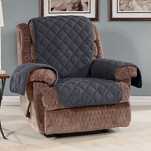 Incredible Sure Fit Triple Protection Recliner Slipcover Customarchery Wood Chair Design Ideas Customarcherynet
