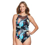 Women's Mazu Swim High-Neck One-Piece Swimsuit
