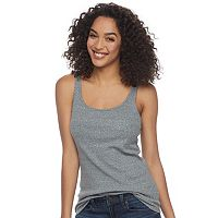 SONOMA Goods for Life Essential Ribbed Tank Womens Deals