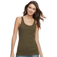Women's SONOMA Goods for Life™ Essential Ribbed Tank