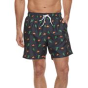 Men's Cole Sombrero and Cactus Swim Trunks