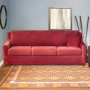 Sure Fit Stretch Pique 4-piece Sleeper Sofa Slipcover