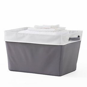 Neatfreak Collapsible Cuffed Stow Away Laundry Basket