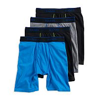 Boys 4-20 Hanes X-Temp 4-Pack Long-Leg Boxer Briefs