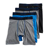Boys 4-20 Hanes X-Temp 4-Pack Boxer Briefs