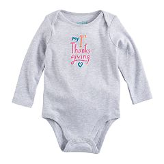 Baby Girl Jumping Beans® 'My 1st Thanksgiving' Graphic Bodysuit