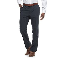 Men's Apt. 9® Slim-Fit Premier Flex Crosshatch Dress Pants