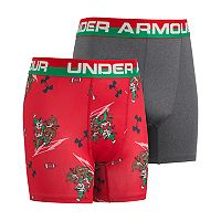 Boys 6-20 Under Armour Elf 2-Pack Boxer Briefs