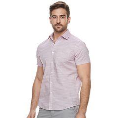 Men's Apt. 9® Premier Flex Slim-Fit Stretch Woven Button-Down Shirt