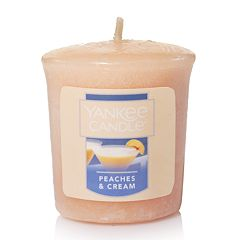 Yankee Candle Peaches & Cream 1.75-oz. Votive Candle