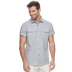 Men's Apt. 9® Premier Flex Slim-Fit Stretch Textured Woven Button-Down Shirt