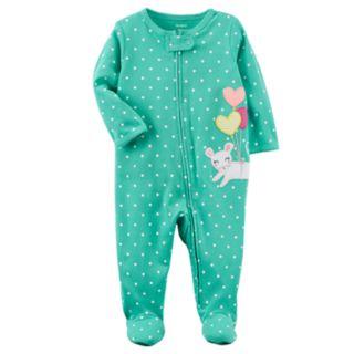 Baby Girl Carter's Mouse Polka Dot Sleep & Play
