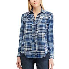 Petite Chaps Patchwork Shirt