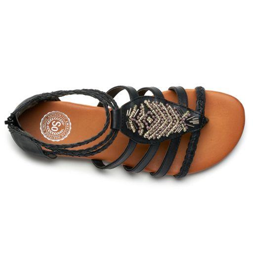 SO® Guppy Women's Gladiator Sandals