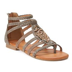 SO® Guppy Women's Gladiator Sandals