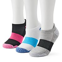 Women's SO® 3-Pack Space-Dyed Terry Low-Cut Socks