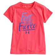 Girls 4-6x Under Armour 'Fast And Fierce' Tee