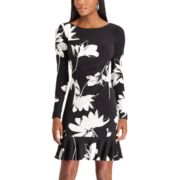Women's Chaps Floral Pleated Dress
