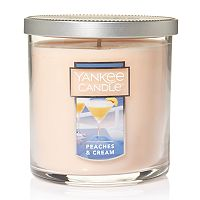 Yankee Candle Peaches & Cream 7-oz. Candle Jar