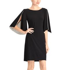 Women's Chaps Cape-Sleeve Shift Dress
