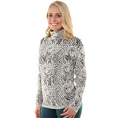 Women's Soybu Dimension Printed Turtleneck Top