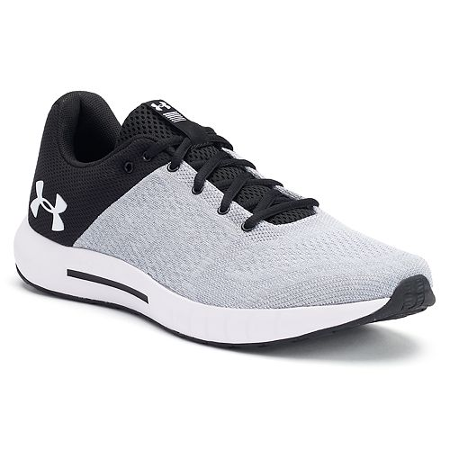 Black Under Armour Micro G Pursuit Mens Running Shoes