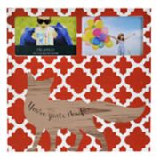 "Melannco Fox 2-Opening 4"" x 6"" Collage Frame"