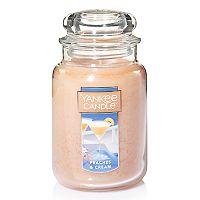 Yankee Candle Peaches & Cream 22-oz. Candle Jar