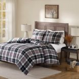 Madison Park Caden Flannel Reversible Comforter Set