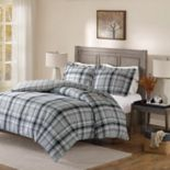 Madison Park Orion Flannel Reversible Comforter Set
