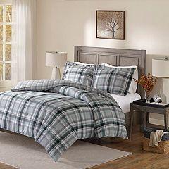 Madison Park Orion Flannel Reversible Comforter Set